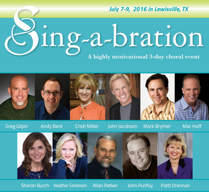 Sing-a-bration 2016
