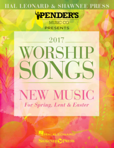 2017 Hal Leonard Worship Songs New Music