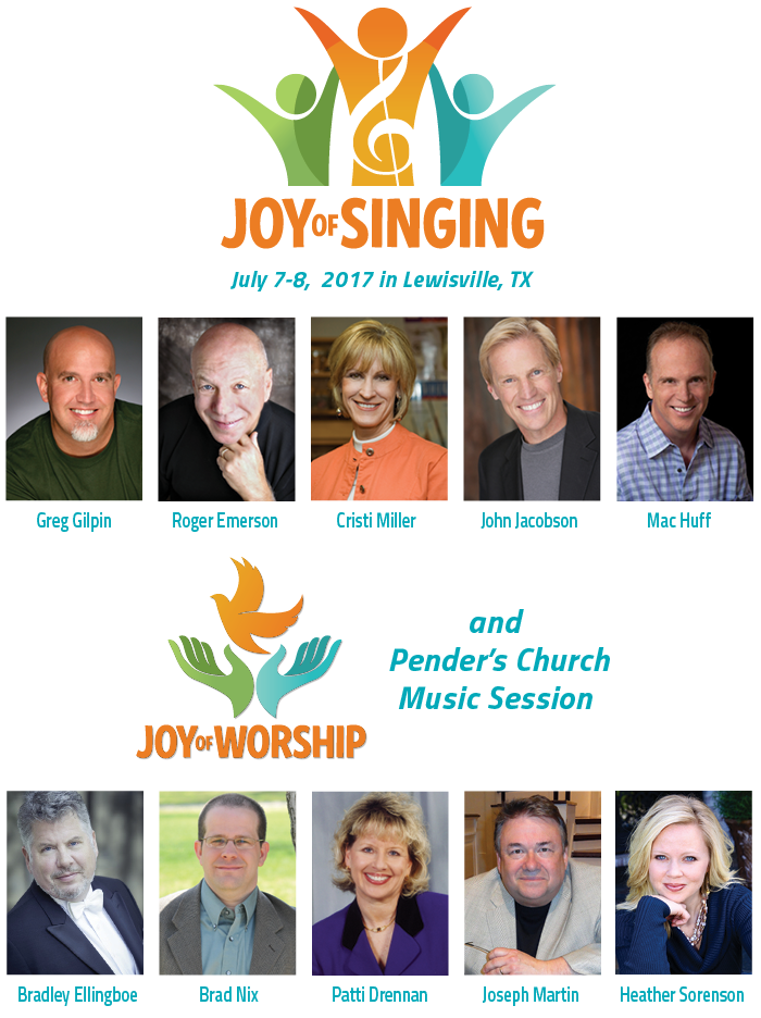 Joy of Singing and Pender's Sacred Music Session